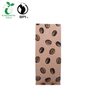 Biodegradable Compostable Printed Food Grade Stand up Kraft Paper Coffee Bag with Zipper