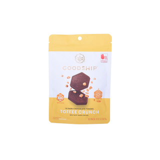 Oem Printed Heat Sealed Flat Zipper Chocolate Candy Packaging Pouch
