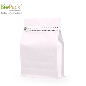 Custom print matt and glossy finishing coffee bag with valve 250g 1kg 12OZ bottom gusset from China