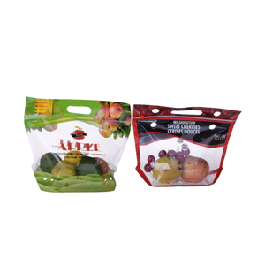 Recyclable Custom Printed Fresh Tomato Packaging Fruit Bean Bag