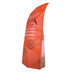 Printed Petfood Treats Organic Recyclable PE Doypack Plastic Bag