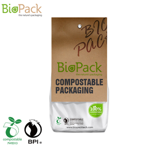 100%compostable Material Biodegradable Coffee Bag Decompose Manufacturers Malaysia
