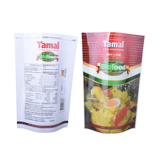 Customized High Quality Retort Bag Salad Stand Up Cooking Pouch For Food Manufacturer in China