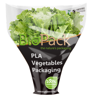 Compostable PLA Vegetable Packaging Bags