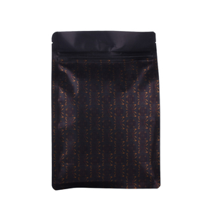 Factory Price Wholesale Logo Printed Eco Friendly Flat Bottom Side Gusset Coffee Bag 500G