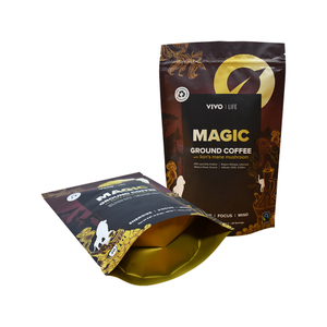 High Quality Matt Printed Cellophane Pla Coffee Doypack