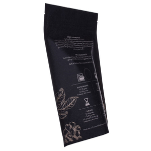 Eco-friendly Kraft Coffee Bags 12oz Stand up Pouch