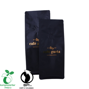 1LB Eco Friendly Biodegardable Compost Coffee Bag