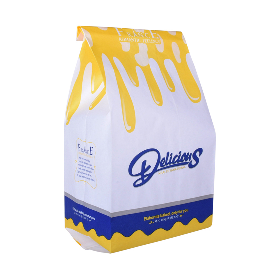 Wholesale Customized 5Kg Flour Packaging Paper Wheat Flour Bag With Window