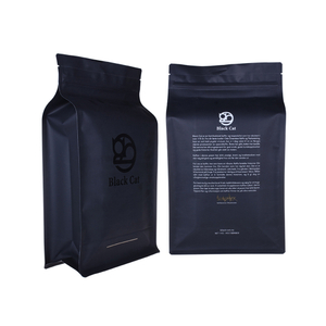 Custom Box Pouch Coffee Bags Coffee Packaging Pouch Bag with One Way Valve Company Wholesale