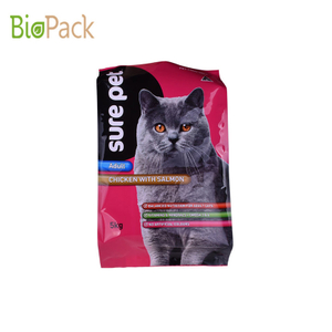 Custom Printing 5kg Aluminum Gusset Pouch For PET FOODS With Good Price And Quality