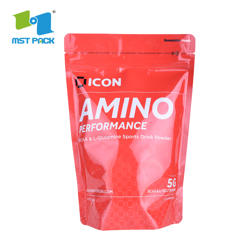 Resealable Plastic Packaging Standing Ziplock Bags with Low Price in Pakistan