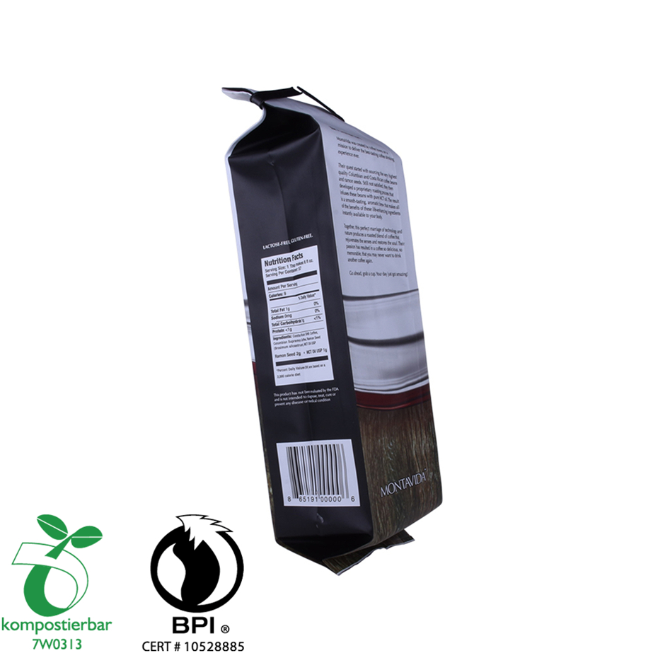Bags Manufacturers Supply 100% Recycle Biodegradable Package Food Packaging for Coffee