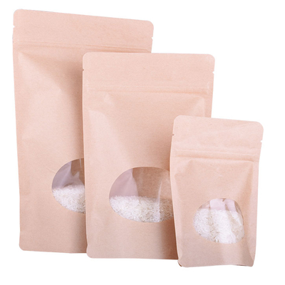 Biodegradable Laminated Waterproof Kraft Paper Bag for Coffee And Tea