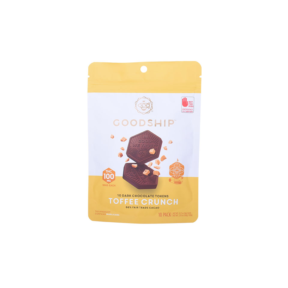 Digital Printed Stand Up Plastic Food Packaging Pouch