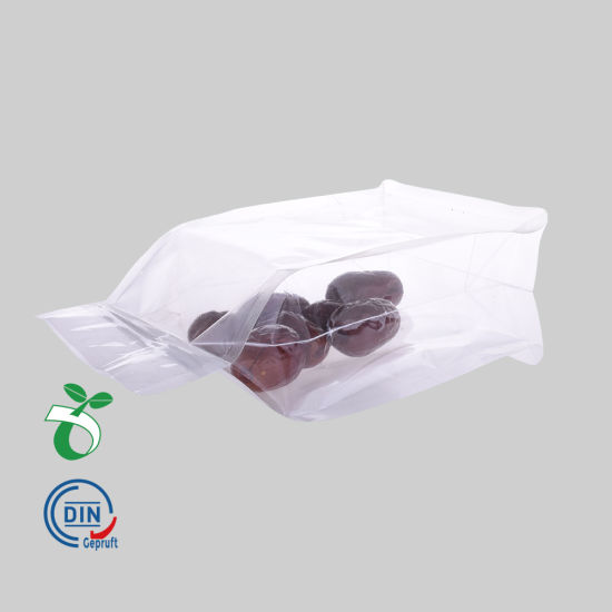 Recycled Eco Friendly Corn Starch Ziplock Stand Up Food Packaging 100 Compostable Biodegradable Plastic Pouch Bag Wholesale From China Manufacturer Biopacktech Co Ltd