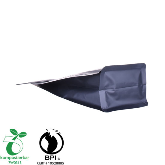 Inventory Foil Lined Block Bottom Bio Degradable Products Manufacturer in China