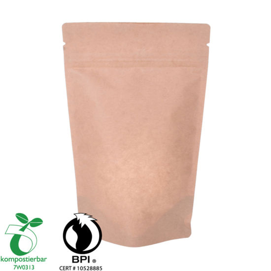 Recycle Compostable Grinds Coffee Pouch Wholesale From China