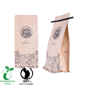 Resealable Ziplock Round Bottom Eco Lunch Bag Factory China