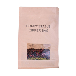 Customized Printing Biodegradable Plastic Packaging Compostable Recycle Coffee Bags