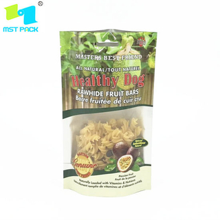 Eco Friendly Plastic Bags 100% Compostable Bio Degradable Zipper Bag Snack Bag