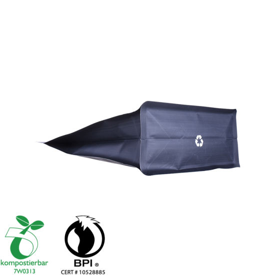 Good Seal Ability Clear Window Biodegradable Plastic Roll Bag Factory China