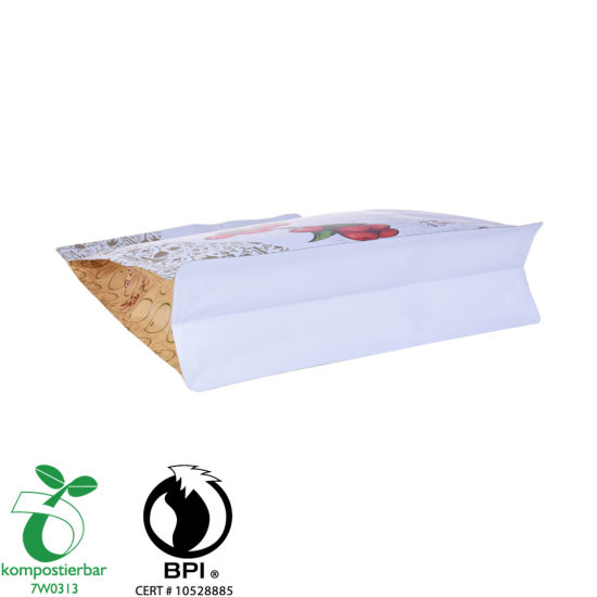 Zipper Flat Bottom Starch Bioplastic Factory China