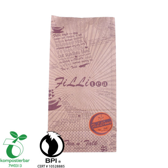 Whey Protein Powder Packaging Square Bottom Eco Friendly Food Bag Factory in China