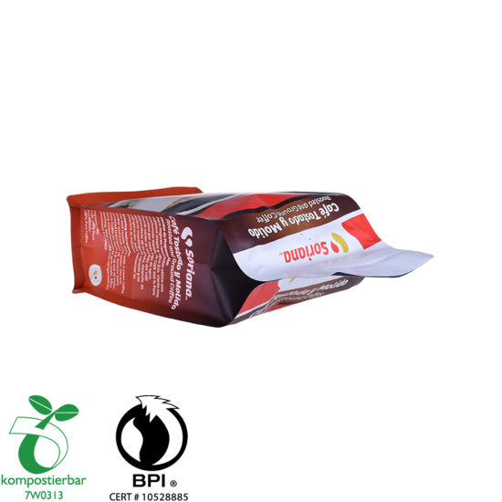 Zipper Flat Bottom Coffee Bag One Way Valve Manufacturer in China