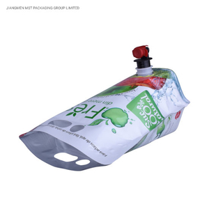 Factory directly Biodegradable Laundry Detergent Liquid Pouch Aluminum Foil Spout Pouch