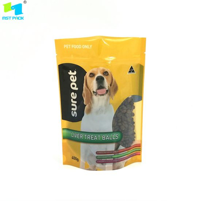 Biodegradable Packaging Zipper Compostable Pet Dog Food Bag