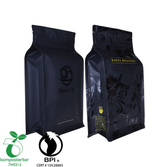 Inventory Foil Lined Block Bottom Recycle Coffee Packaging Bag Manufacturer in China