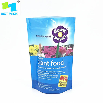 Custom Printed Agriculture Area Packaging Packaging Biodegradable 100% Compostable Zipper Seeds Bag