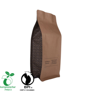 Laminated Material Clear Window 8oz Coffee Bag Supplier From China
