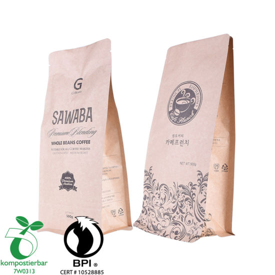 Good Seal Ayclity Compostable Bag for Packing Coffee Wholesale in China