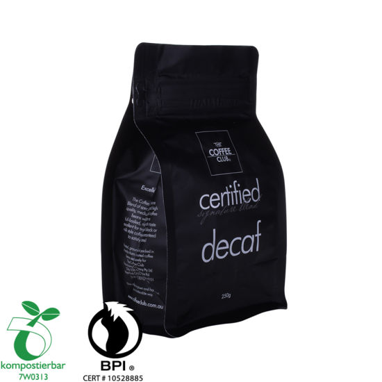 OEM Square Bottom Packaging of Coffee Supplier From China