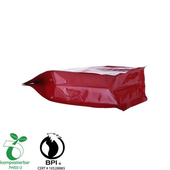 Custom Printed Round Bottom Plastic Food Packaging Manufacturer in China