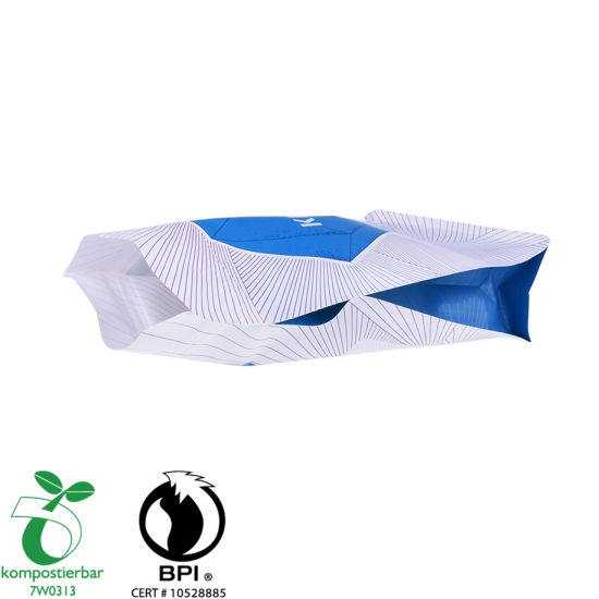 Whey Protein Powder Packaging Side Gusset Packing Bag for Tea Factory China