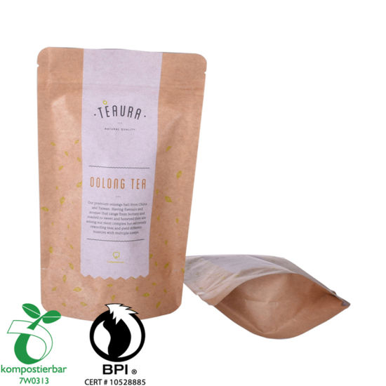 Renewable Doypack Coffee Bag with Window Manufacturer From China