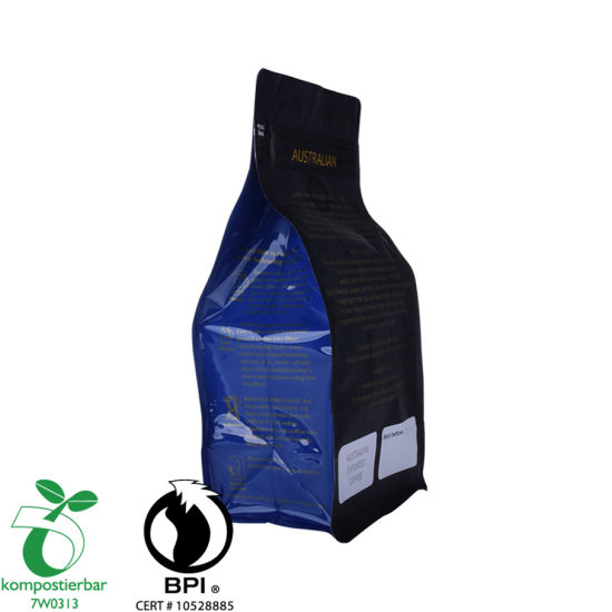 Eco Square Bottom Heat Resistant Plastic Bag Factory in China