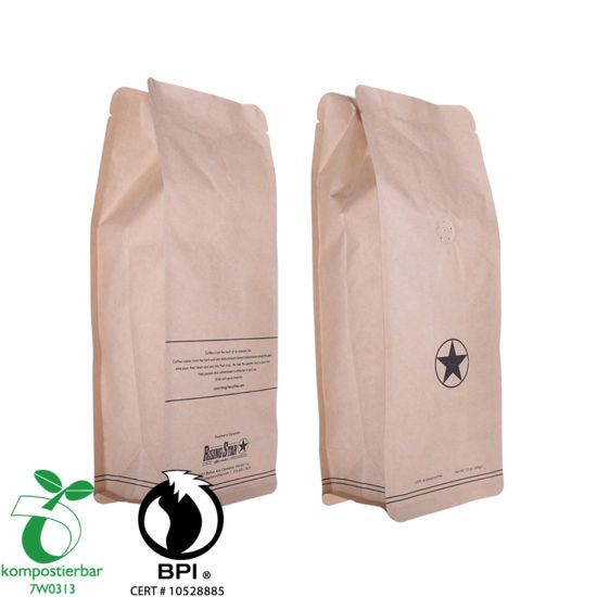 Good Seal Ayclity Compostable Paper Bag for Tea Manufacturer in China